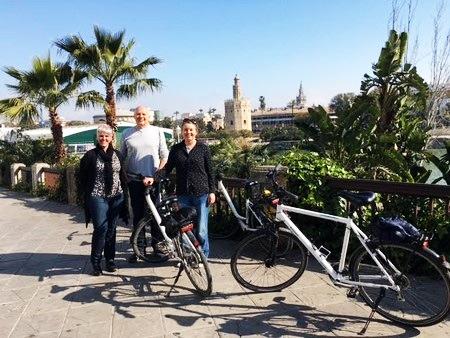 Sevilla fietstocht: Langs alle highlights van de stad.